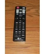 LG AKB74955301 REMOTE CONTROL for CM8360 CM9760 OM5560 OM7560 Home Audio... - $14.01