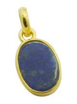 bonnie Lapis Lazuli Gold Plated Blue Pendant Fashion gemstones US - $5.63
