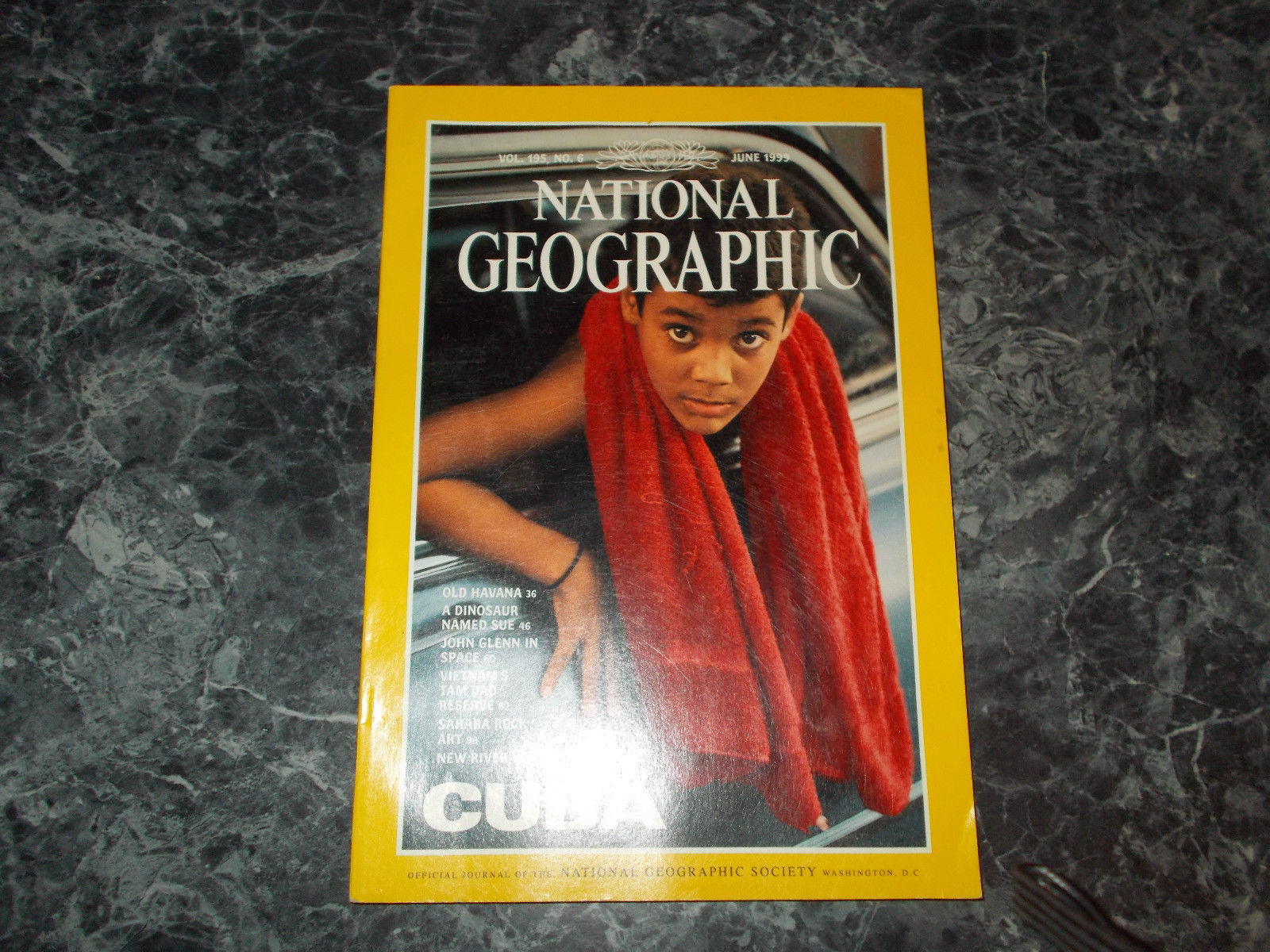 National Geographic Magazine June 1999 Cuba