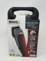 WAHL Fade Cut Pro Complete Haircutting Clipper Kit (16-Pieces) FAST SHIP... - $46.04