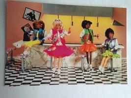 Barbie VTG Postcard Barbie Doll Collector Christmas Gift Diner w/Sensati... - $11.63