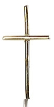 CROSS - 14 KT Gold Medal Pendant -  NO CHAIN - 0014S