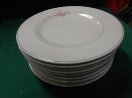 "Beautiful Collectible Pfaltzgraff ""Trousseau"" Set 9 BREAD-SALAD-DESSERT Plates - $24.66"