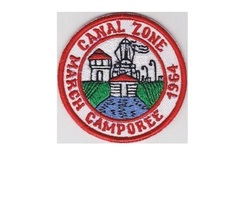 Boy Scouts of Canal Zone BSA, March Camporee 1964 CZ Council Panama 3.5 inches d - $9.99
