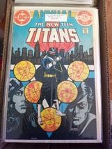 New Teen Titans annual # 2 1st appearance of Vigilante (Damaged) DC comics - $0.75