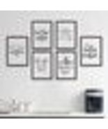 Coffee Quote Canvas Art Print Poster, Simple Style Wall Pictures for Hom... - $31.82