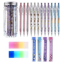 Mechanical Pencil Set Assorted 12 Pieces Mechanical Pencils, 4 Tubes of ... - $16.80