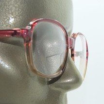 Ruby Gray Ombre Frame Reading Glasses Polished Acrylic 2-tone +1.75 Lens Power - $27.00