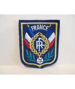 FRANCE Patch French Souvenir Crest Emblem Embroiderery Sew On Embroidered  - $5.99
