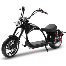 MotoTec Lowboy 60v 20ah 2500w Lithium Electric Scooter 28 MPH up to 38 Miles image 2