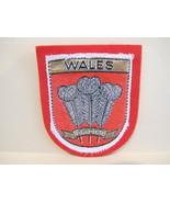 WALES Patch WELSH Souvenir Crest Emblem Sew On  - $5.99
