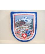 SWITZERLAND Patch Souvenir Crest Emblem Embroiderery Sew On  - $5.99