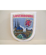 LUXEMBOURG Patch Souvenir Crest Emblem Embroiderery Sew On  - $5.99
