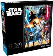 """Star Wars  """"The Circle Is Now Complete"""" 1000 Piece Jigsaw Puzzle Buffalo... - $23.70"""