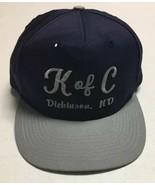 Vtg Knights Of Columbus Hat K Of C Baseball Cap Dickinson North Dakota C... - $14.84