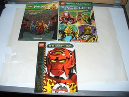 Lot of 3 LEGO Books: Graphic Novel, Guidebook and Scholastic Novel - $9.90