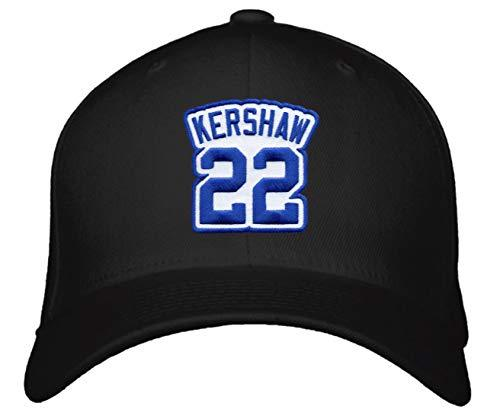 Clayton Kershaw Hat - Los Angeles Baseball Jersey Number Adjustable Cap Makes A