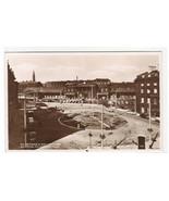 St George's Square Huddersfield Yorkshire UK RPPC Real Photo postcard - $6.93