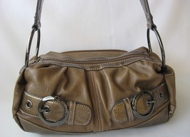 Designer handbag purse bag kathy van zeeland brown thumb200