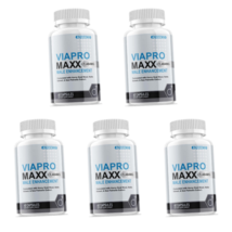 VIAPRO MAXX Male Enhancement Pills All-Natural Supplement For Men (300 Capsules) - $145.99