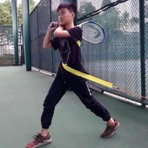 Tennis Trainer Belt Swivel Rotating Swing Training Tool Home Exercise Eq... - $31.04