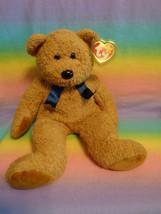 Vintage 1999 Ty Beanie Buddy Fuzz the Bear Stuffed Animal Toy w/ plastic... - $11.83