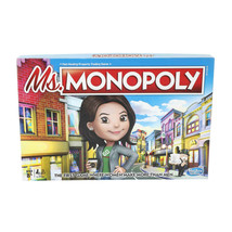 NEW SEALED 2018 Hasbro Ms Monopoly Board Game - Women Make More Than Men - $18.49
