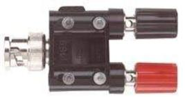 POMONA - 1469 - ADAPTER, DUAL BINDING POST-BNC MALE - $40.99