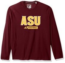 Arizona State Sun Devils Adidas Men's Sideline Football Long Sleeve Shir... - $17.72