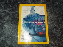 National Geographic Magazine January 2001 Body in Space - $2.99