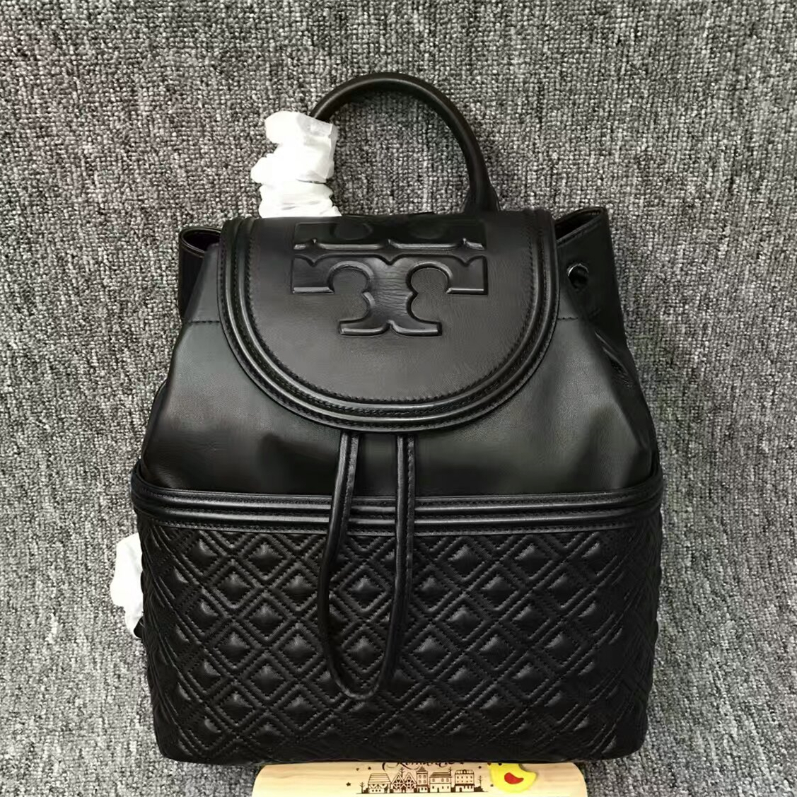 61a96286c583 Authentic Tory Burch Fleming Backpack and 50 similar items.  Mmexport1481874568866. Mmexport1481874568866