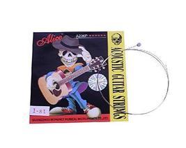 Set of 10 Single Acoustic Guitar Strings, E-1st Stainless Steel Strings.0.11