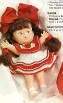 X777 Crochet PATTERN ONLY Stocking Stuffer Doll Dress Pattern - $7.50