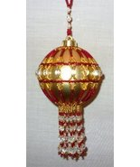 X784 Bead PATTERN ONLY Beaded Duchess Christmas Ornament Cover Pattern - $10.50