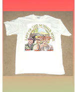 LAST OF THE SUMMER WINE WHITE COTTON SHORT SLEEVE T SHIRT SIZE LARGE - $24.00