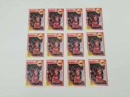 1989 Fleer Akeem Olajuwon #61 Basketball Cards Lot of 12 Houston Rockets NBA - $17.41