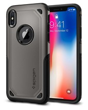 iPhone X Case PC TPU Hybrid Armor Rugged  Anti-Slip Wireless Charging Sl... - $25.24