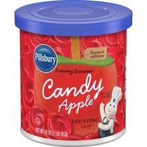 Pillsbury Candy Apple Frosting - 16oz red icing - $5.90