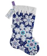 Bucilla 'Sparkle Snowflake' - Felt  Christmas Stocking Stitchery Kit -  ... - $29.99