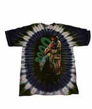Carlos Santana Each Living Cell 1999-2000 Rock Band Vintage Tie Dye L T ... - $79.19