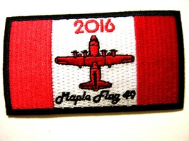 Usaf Patch - 700th Airlift Squadron Maple Flay 49 Full Color : GA18-1 - $5.00
