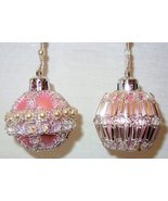 X893 Bead PATTERN ONLY Beaded Baby or Mini Christmas Ornament Cover No. 3 - $10.50