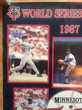 "1987 Minnesota Twins World Series Champs Poster 22"" x 34"" image 7"