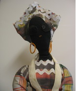 Vintage Black Mammy Cloth Doll Toaster Cover - $29.95