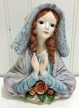 YAMADA Originals PRAYING LADY Geo Lefton SRN 12225 Hand Painted Woman Gi... - $48.37