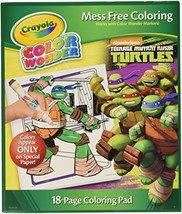 Crayola Color Wonder Coloring Pad, Teenage Mutant Ninja Turtles - $9.95