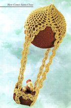 X966 Crochet PATTERN ONLY Pineapple Balloon Christmas Ornament Cover - $9.50
