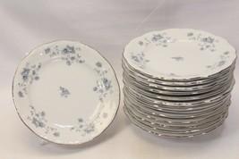 """Johann Haviland Blue Garland Bread Plates Bavaria 6"""" Lot of 8 - $39.15"""