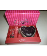 CANDIE'S BLACK OR SILVER CHARLOTTE SEQUIN HEART... - $12.99