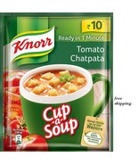 5 PACK X  KNORR CUP-A-SOUP TOMATO CHATPATA with fast shipping - $5.92